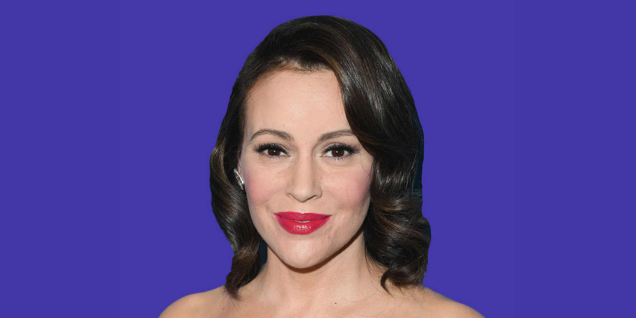 Alyssa Milano Discusses Her New Book - Reveals Its Goal Is To Inspire 'Hope For a Brighter Tomorrow'