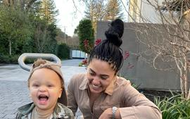 Ayesha Curry Posts Hilarious Clip Of Her Son Canon Crushing On Jennifer Lopez!