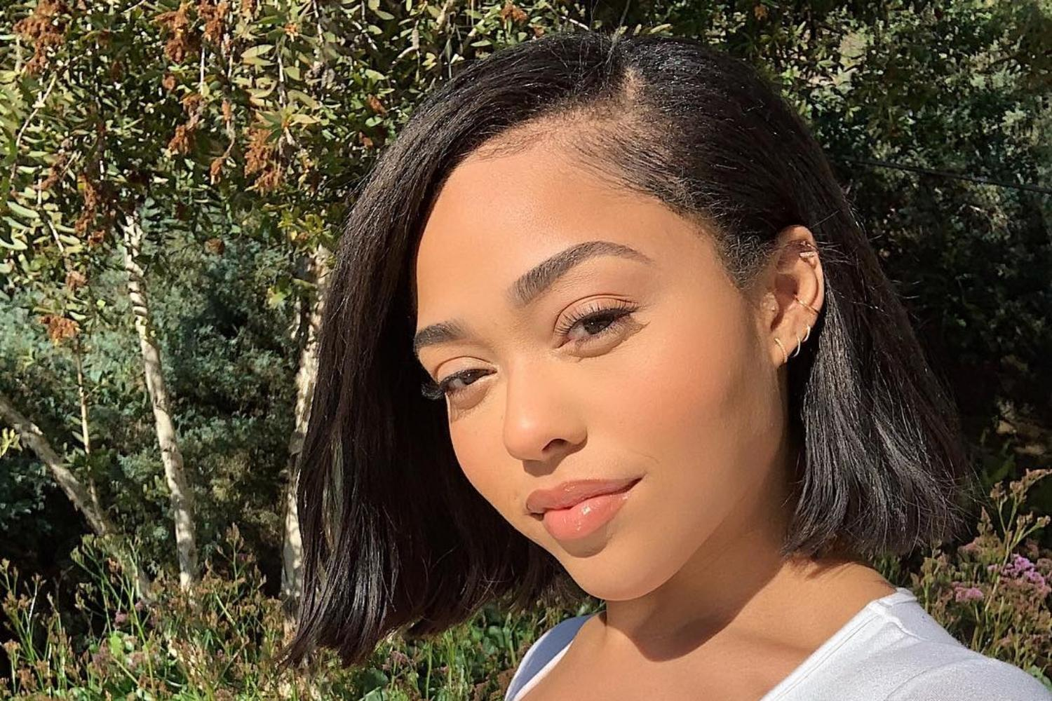 Jordyn Woods Drops Her Clothes And Shows Off Her Beach Body By The Pool - Check Out The Juicy Pics That Have Fans Praising Her Natural Curves