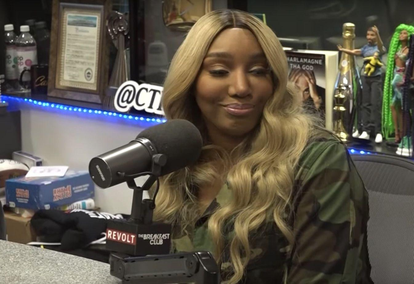 NeNe Leakes Gives Fans A Sneak Peek At Her Time In The Studio Recording A New Track