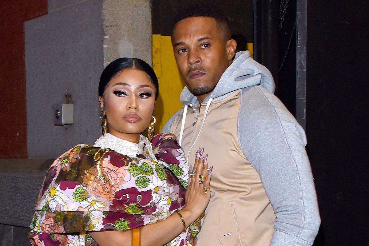 Nicki Minaj Briefly Changes Her 'Mrs. Petty' Twitter Handle - Is There Trouble In Paradise With Hubby Kenneth Petty?