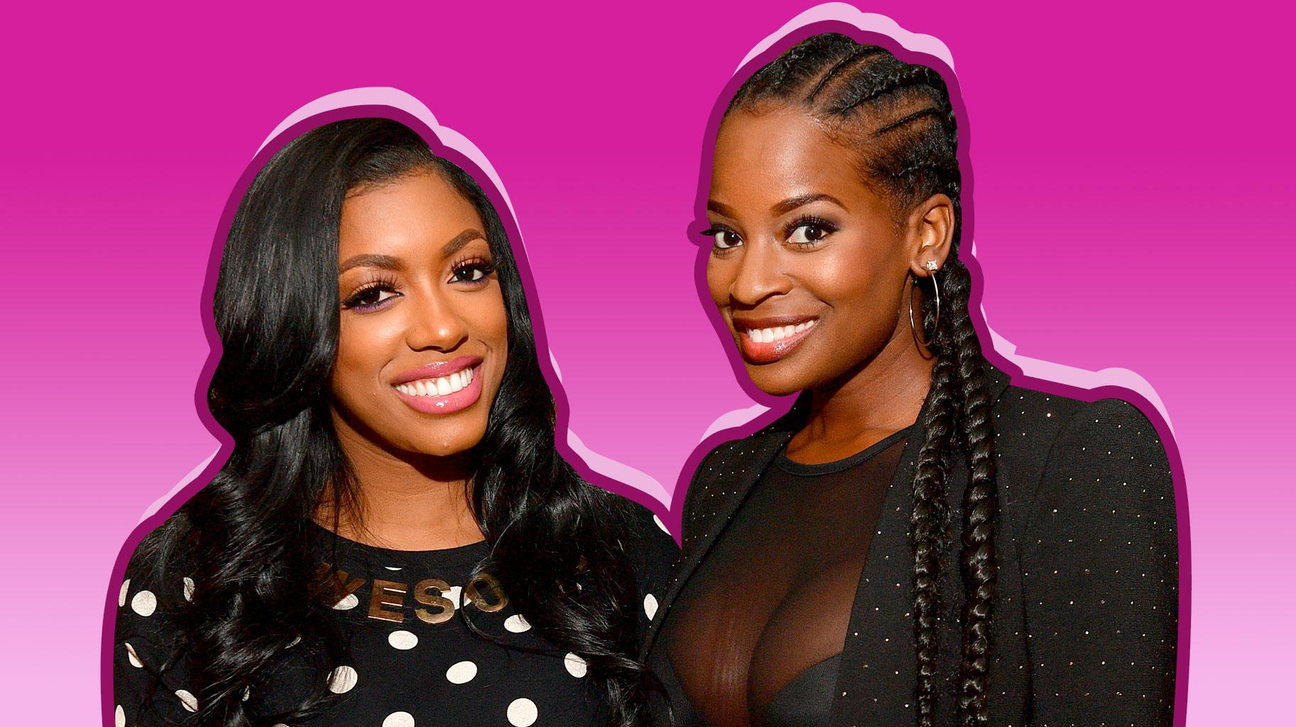 Porsha Williams Remembers The Good Times With Shamea Morton - Check Out The Throwback Photo She Shared