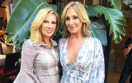 Sonja Morgan Throws Shade At RHONY Co-Star Ramona Singer