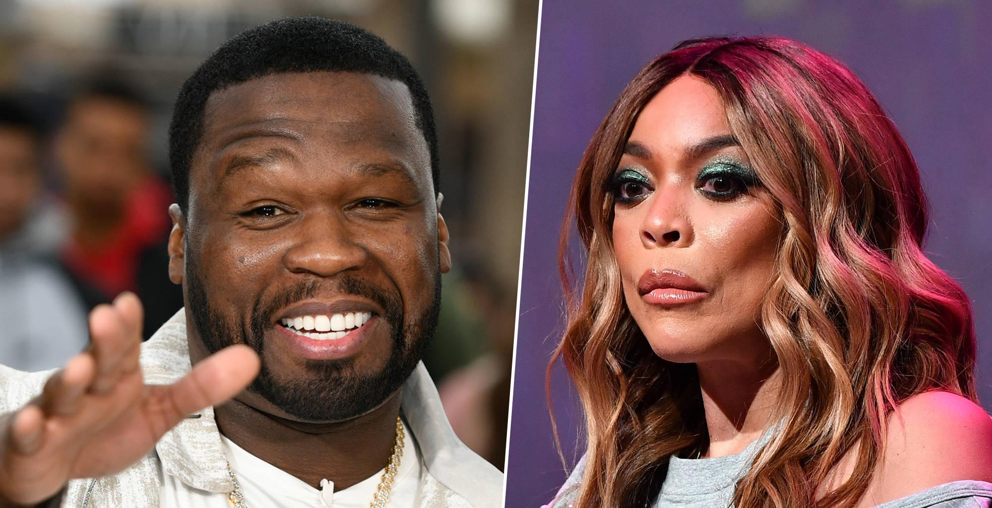 50 Cent Finally Reveals The Truth About Wendy Williams Supposedly Being Kicked Out Of His Pool Party Last Year!