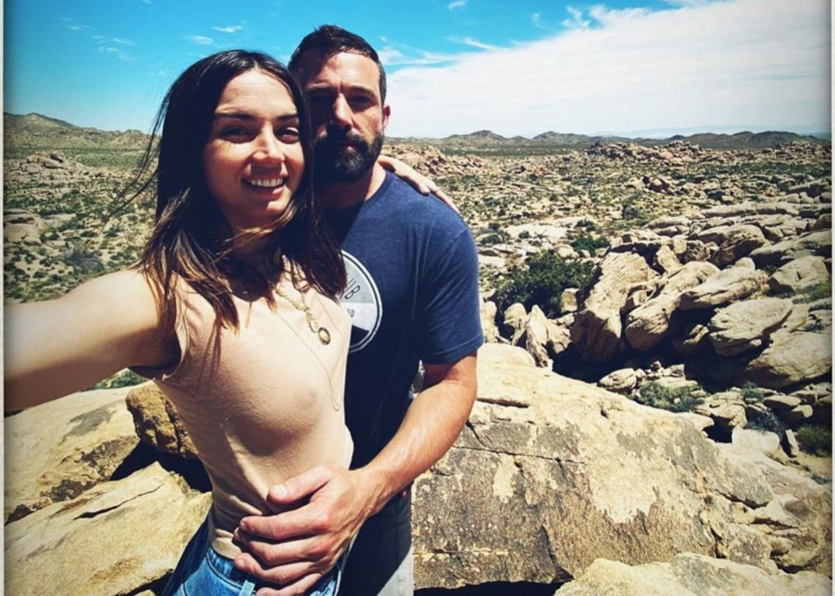 Ben Affleck And Ana De Armas Wear Matching Heart Necklaces As People Ask If They Are Engaged