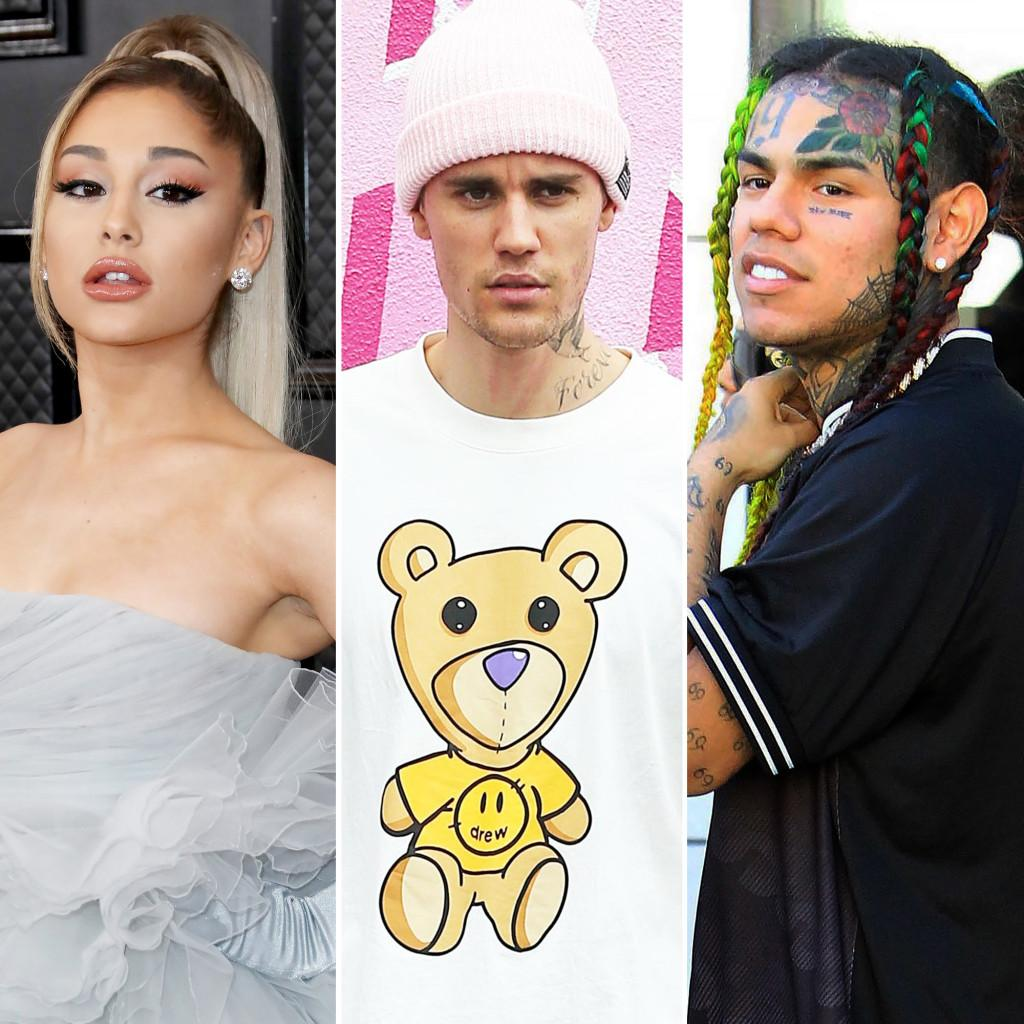 Ariana Grande Responds To Tekashi 6ix9ine's Claims She And Billboard Manipulated The Charts To Get Duet With Justin Bieber At The Top!