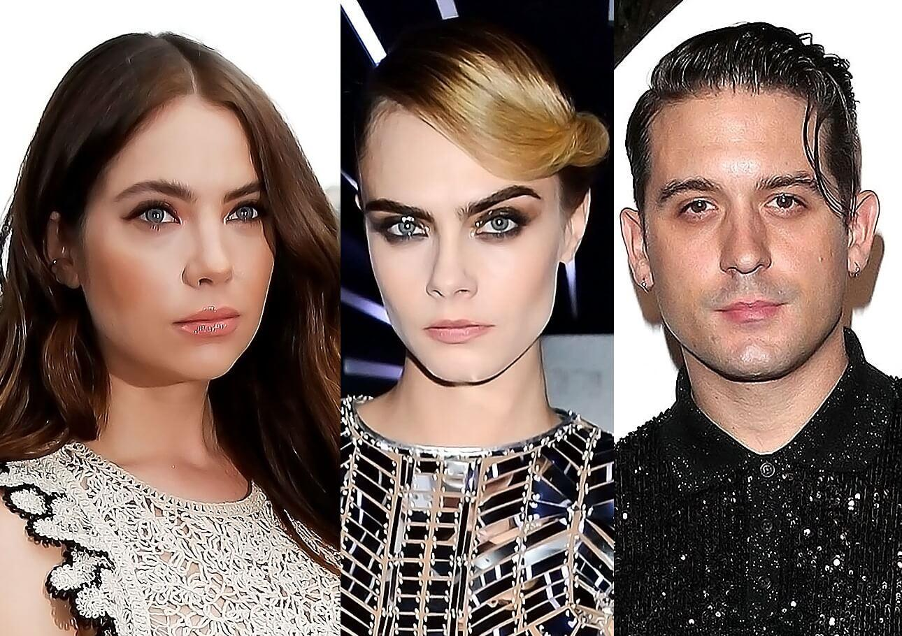Ashley Benson And G-Eazy Confirmed To Be Dating Following The Actress' Split From Cara Delevingne - They Were Caught Kissing!