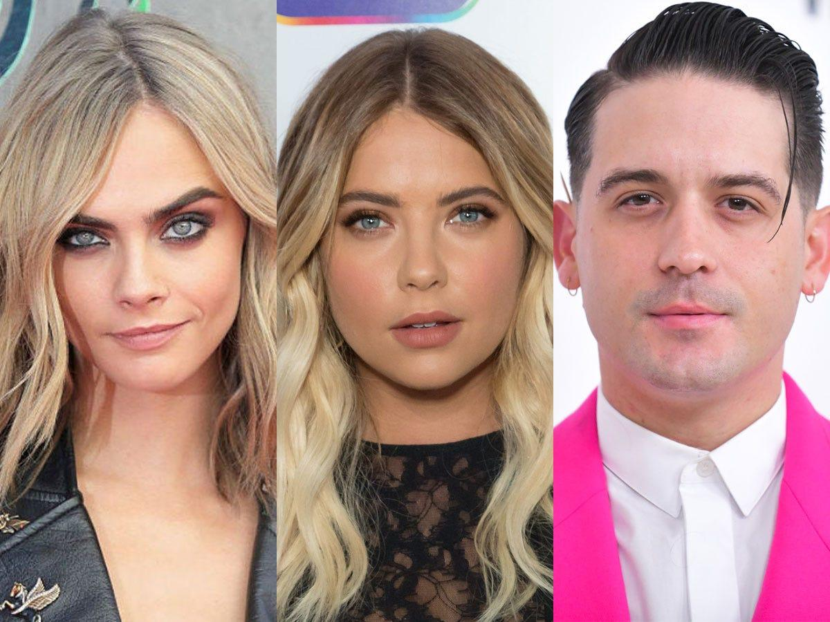 Ashley Benson's Casual Romance With G-Eazy Reportedly A Great Help After Her And Cara Delevingne's 'Sad' Split