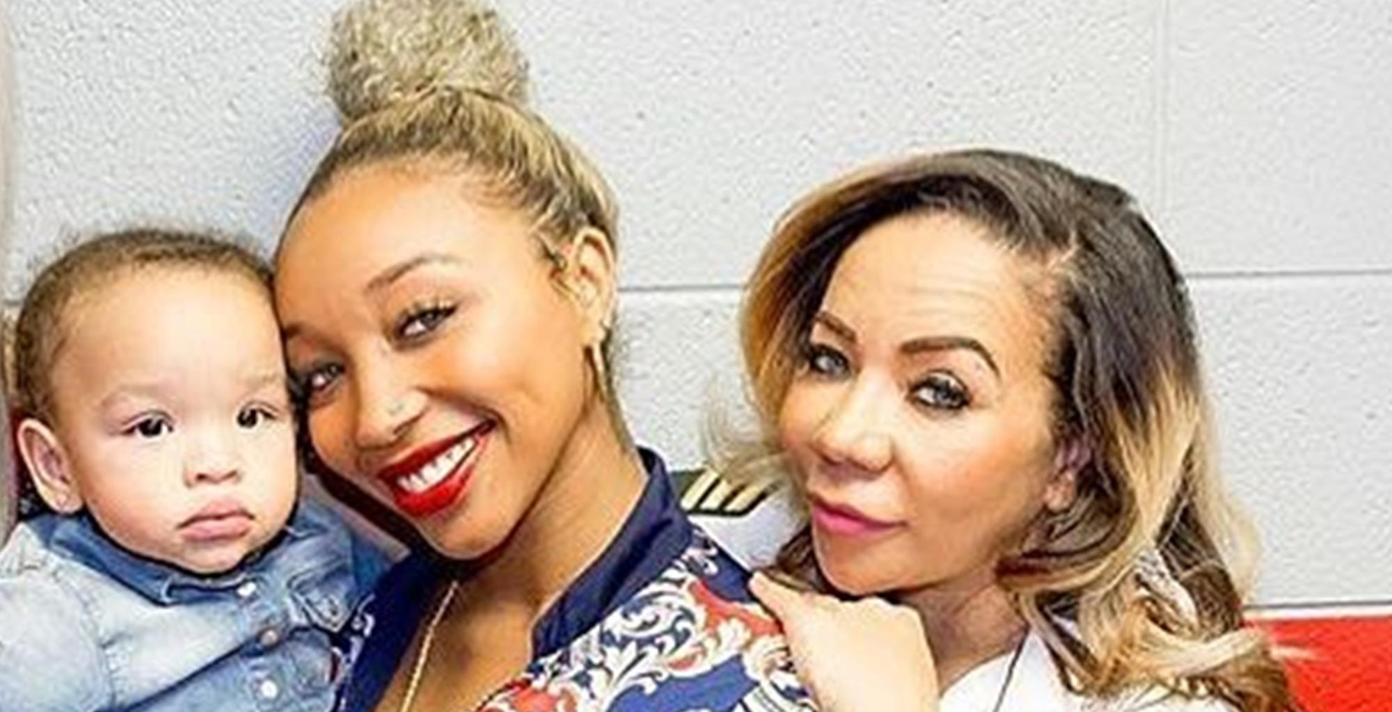 Tiny Harris' Latest Video Featuring Heiress Harris Has Zonnique Pullins In Awe