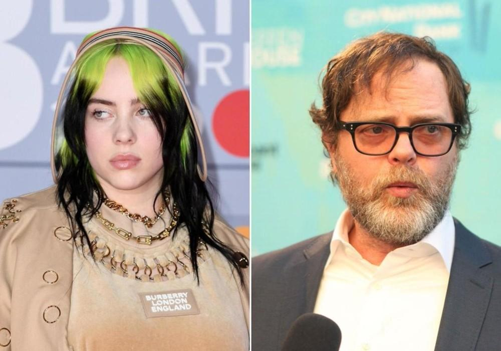 Billie Eilish Is Obsessed With 'The Office,' But Rainn Wilson Says It's Time To Move On To A New Show