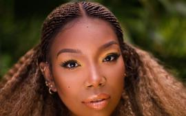 Brandy Norwood Stops The Aging Process In New High-Fashion Photos