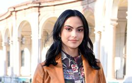 Camila Mendes Hilariously Recreates Beyonce's Famous Twin Pregnancy Pic Using Random Things!