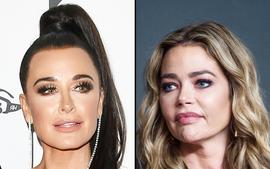 Denise Richards Responds To Kyle Richards After Accusing Her Of Staging Scene With Her Daughter On RHOBH!