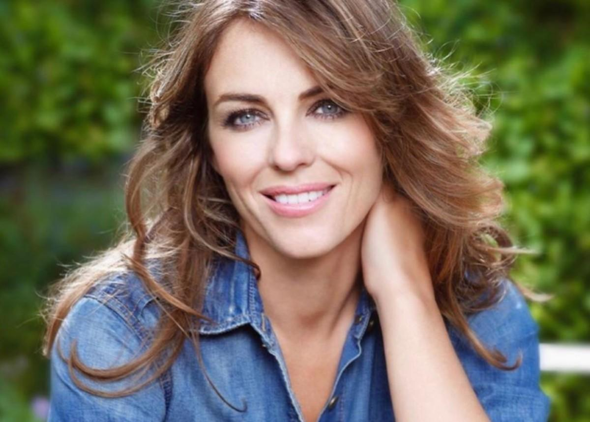 Elizabeth Hurley Flaunts Her Curves In New Swimsuit Photos For Elizabeth Hurley Beach
