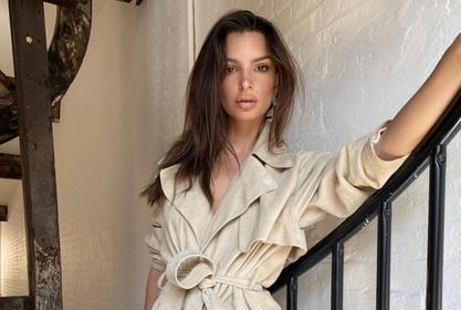 Emily Ratajkowski Sizzles On Cover Of British GQ — Model And CEO Wears Inamorata Woman, Magda Butrym, And More