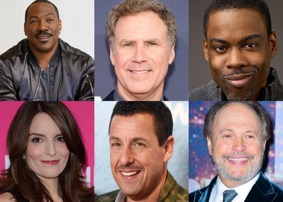 Saturday Night Live Alumni Eddie Murphy, Billy Crystal, Will Ferrell, Adam Sandler, Chris Rock, And More Come Together For Feeding America Comedy Festival On NBC