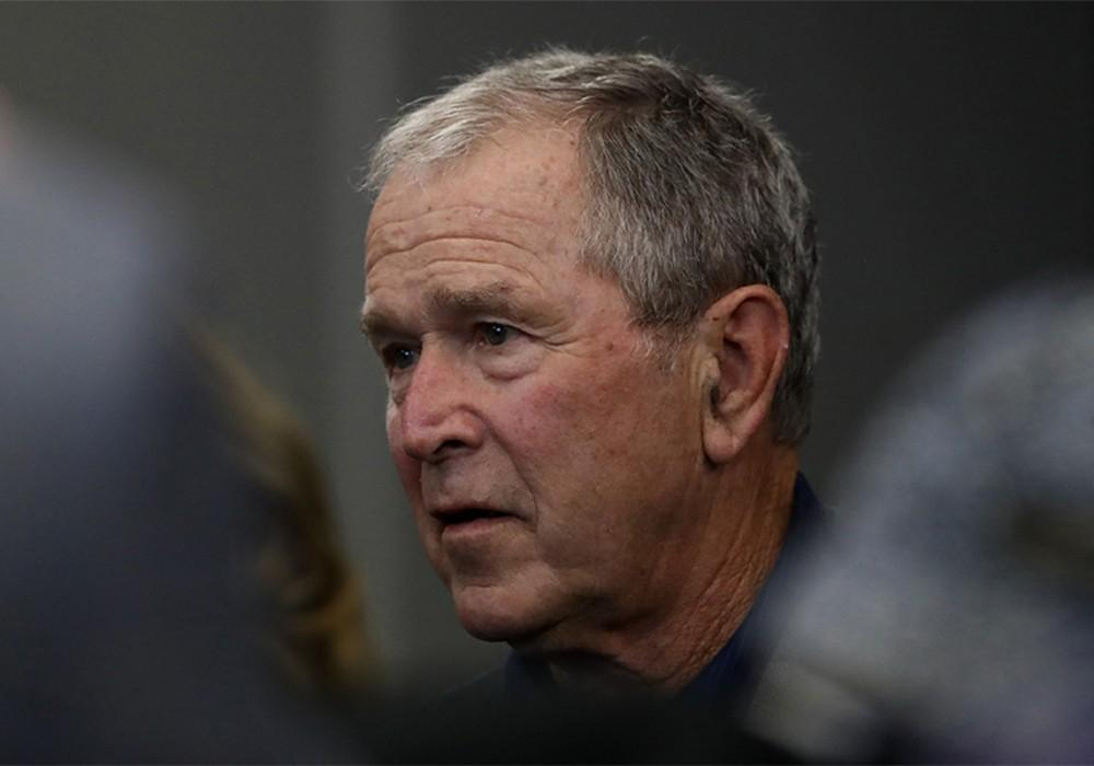 George W. Bush Shares Empathetic Message Of Unity Amid COVID-19 Pandemic, Twitter Responds With Both Praise & Disgust