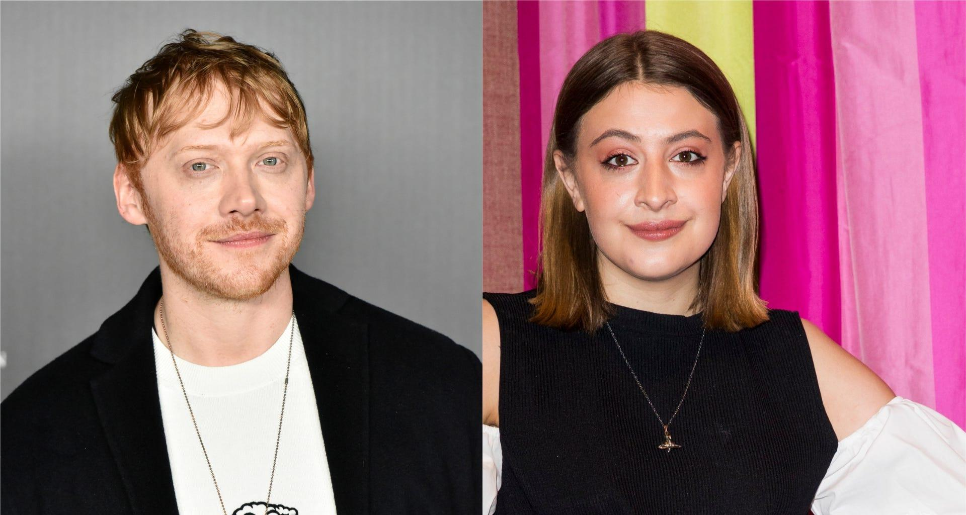 Rupert Grint And Georgia Groome Officially First-Time Parents After She Gives Birth To Their Baby!