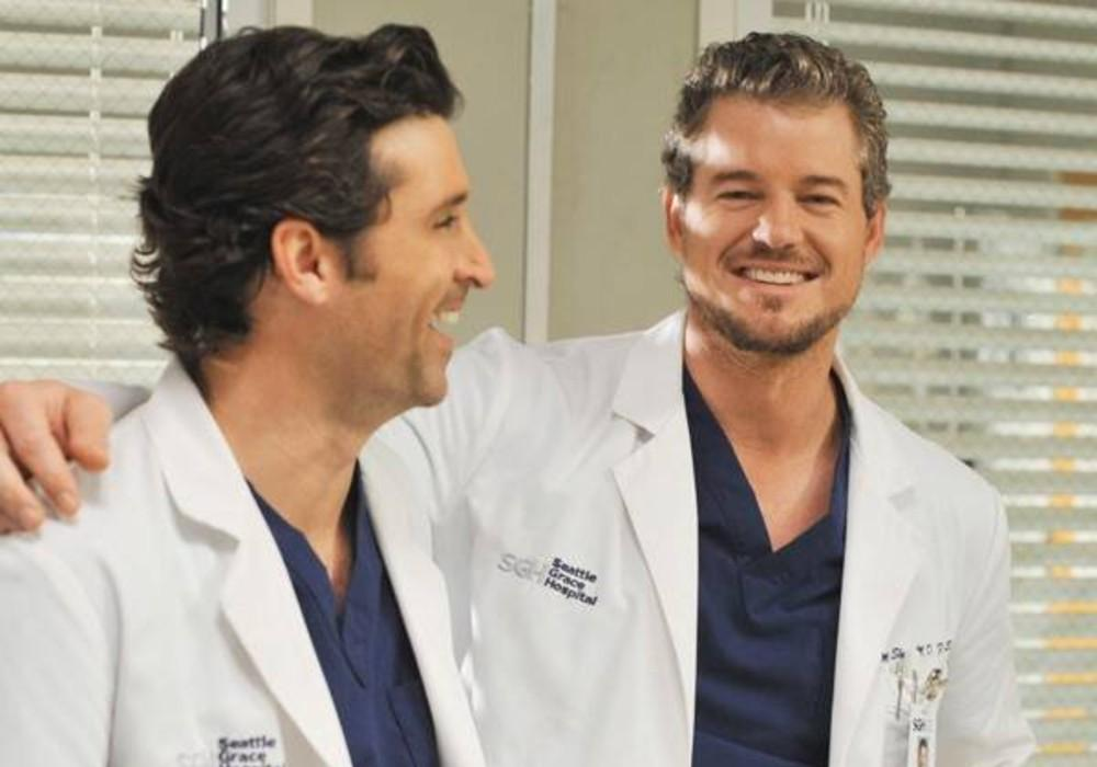 Grey's Anatomy Alums Patrick Dempsey & Eric Dane Reunite While Practicing Social Distancing And Fans Are Loving It