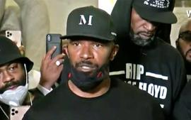 Jamie Foxx Speaks At Rally In Minneapolis For George Floyd - 'We're Not Afraid Of The Moment'