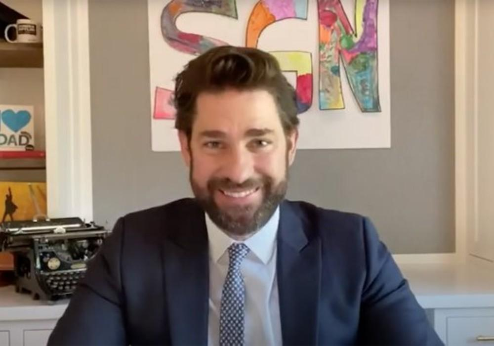 John Krasinski Sells 'Some Good News' To ViacomCBS And Fans Are Accusing Him Of Selling Out