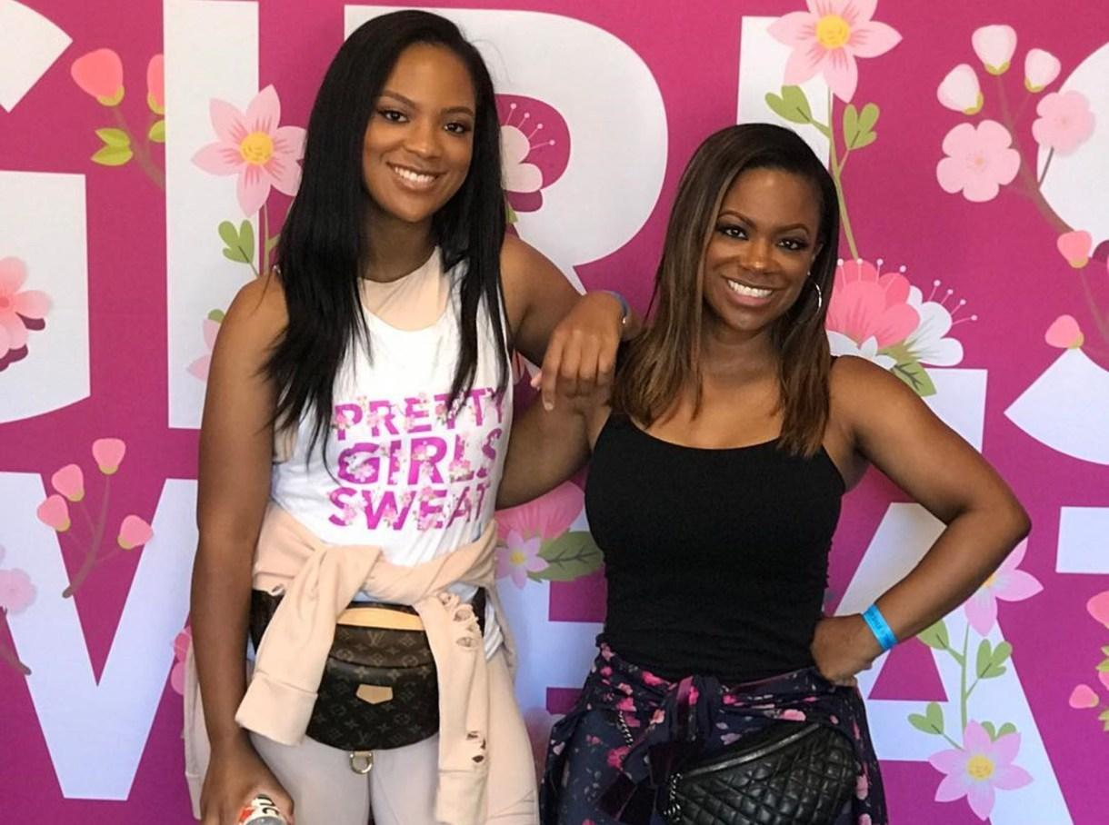 Kandi Burruss' Daughter, Riley Burruss Thinks She Runs The House! Check Out This Photo