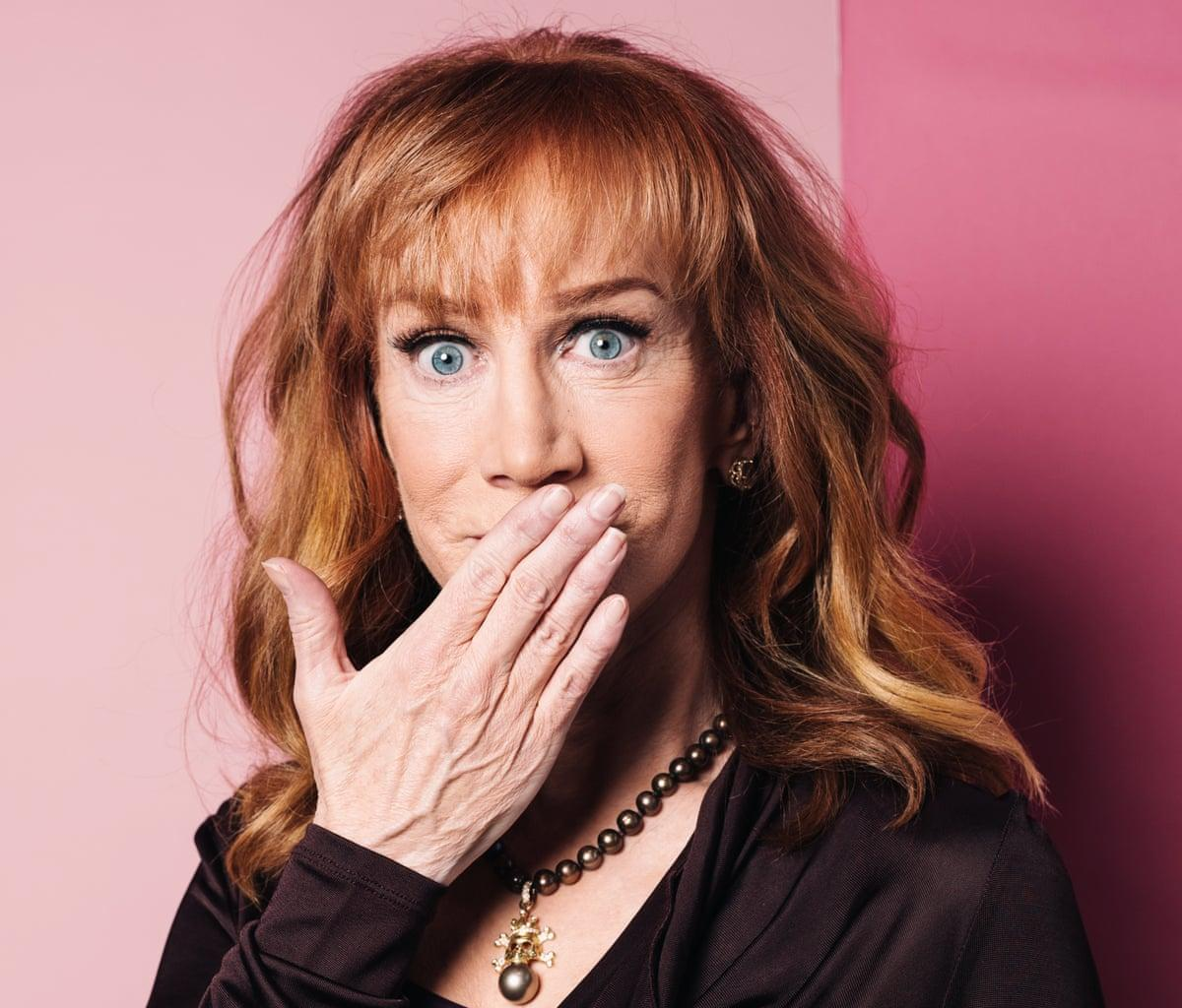 Kathy Griffin Suggests Donald Trump Should Get Injected With A Syringe Filled With Nothing But Air And Is In Hot Water Again!