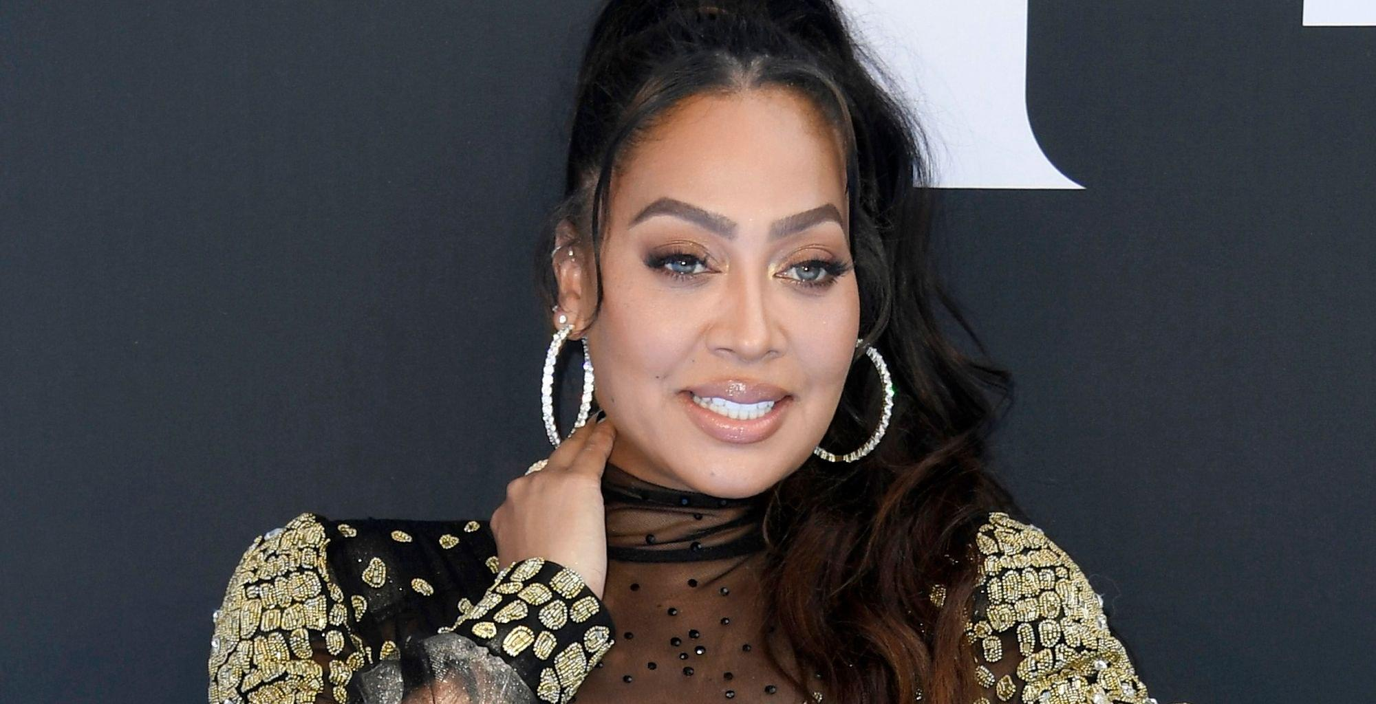 Carmelo Anthony Shares Gorgeous Photo Of Wife La La Anthony Flaunting Her Bare Belly And Pens This Sweet Message