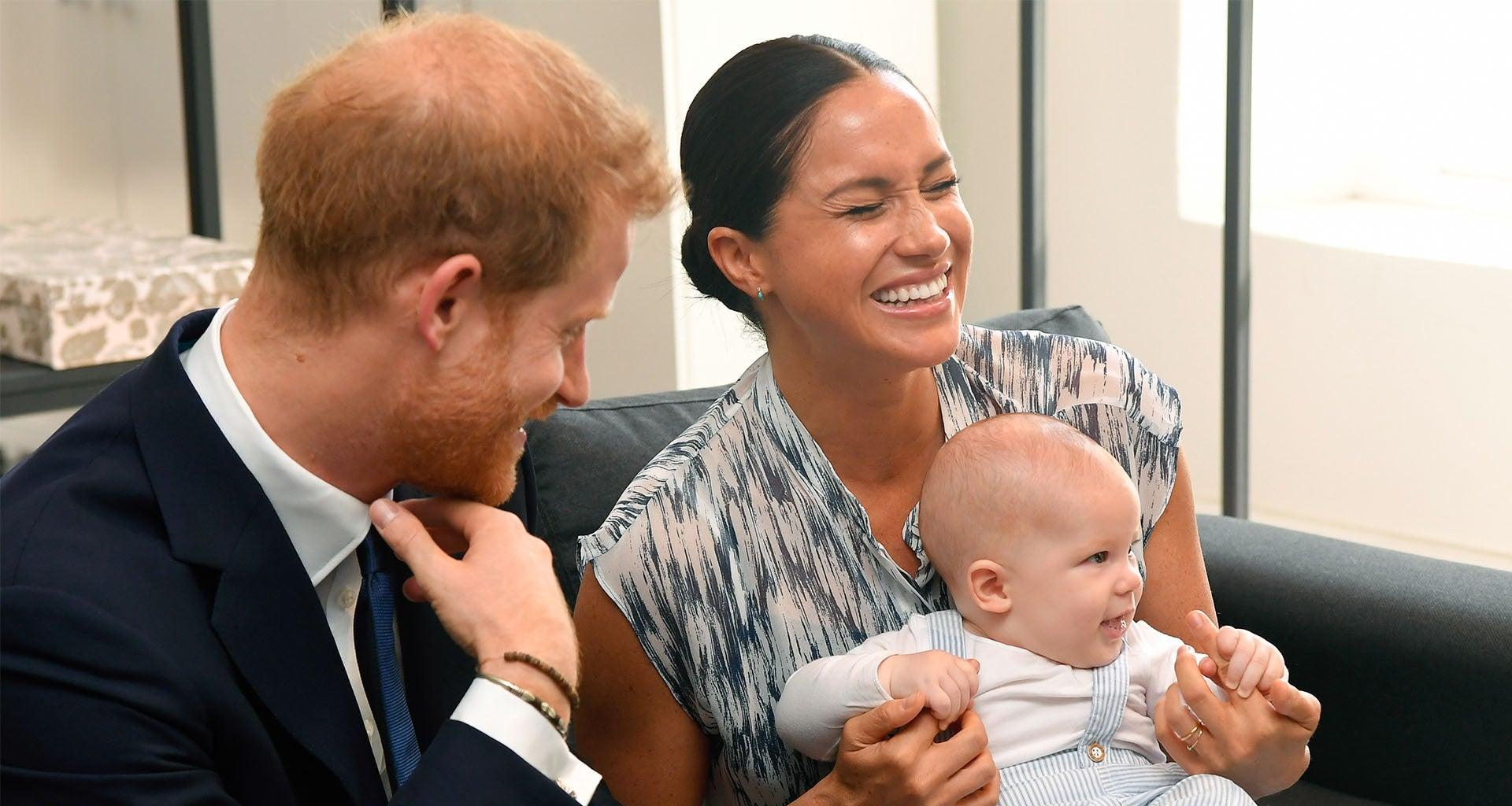 Meghan Markle Reads To Her And Prince Harry's Son Archie In Adorable And Rare Video!
