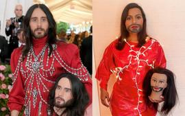Mindy Kaling Recreates Jared Leto's Met Gala Look — Takes Billy Porter's And Vogue's Met Gala Challenge