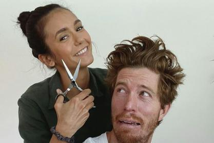 Nina Dobrev Goes Instagram Official With Olympic Snowboarder Shaun White