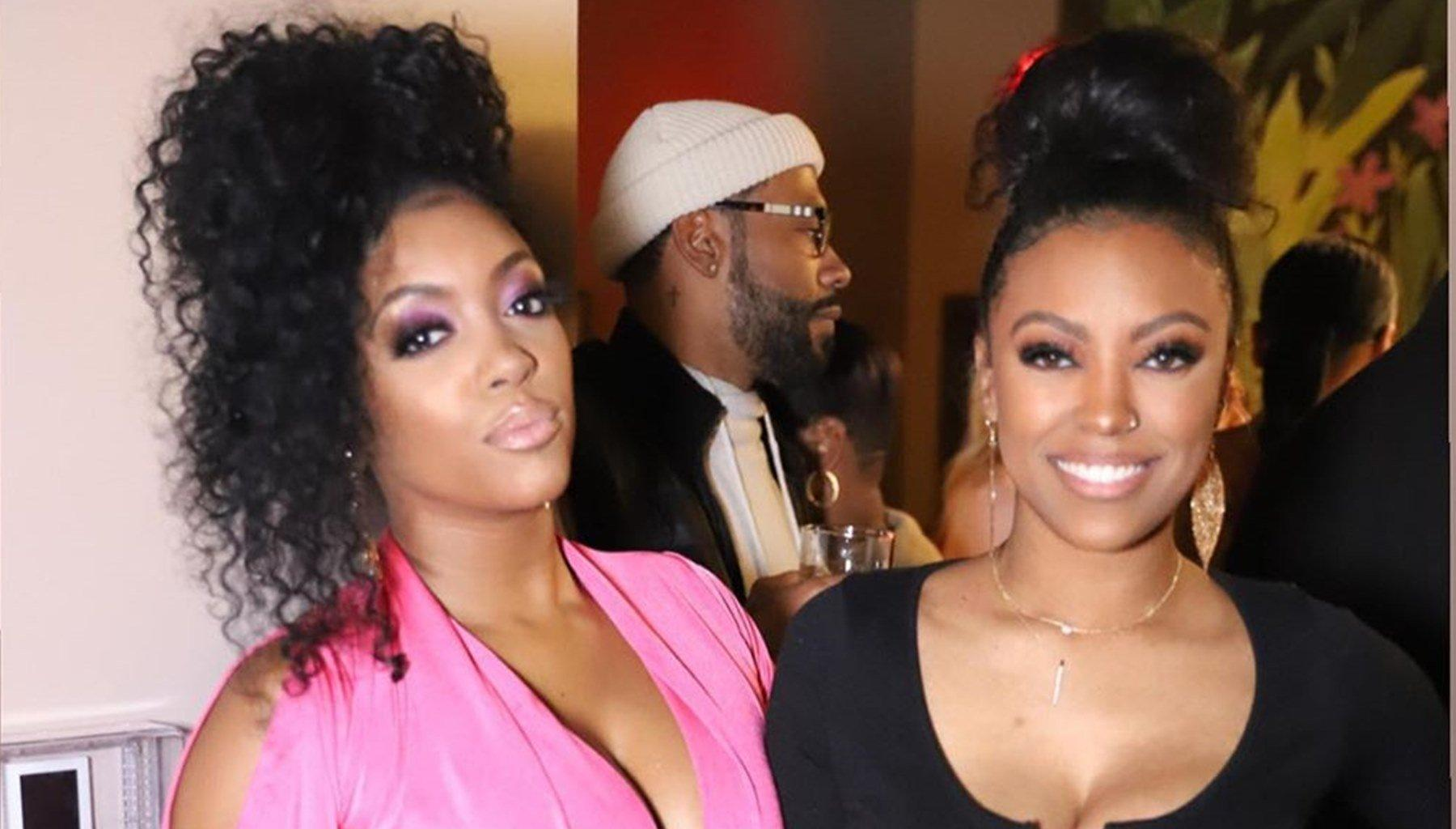 Porsha Williams Has The Best Time With Her Sister, Lauren Williams - See Them Dancing For The Camera