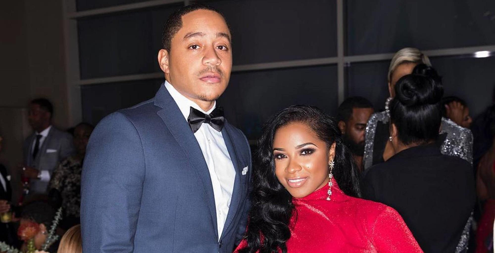 Toya Johnson Shares A Photo With Robert Rushing In Which She's Flaunting Her Natural Hair And Fans Are In Awe
