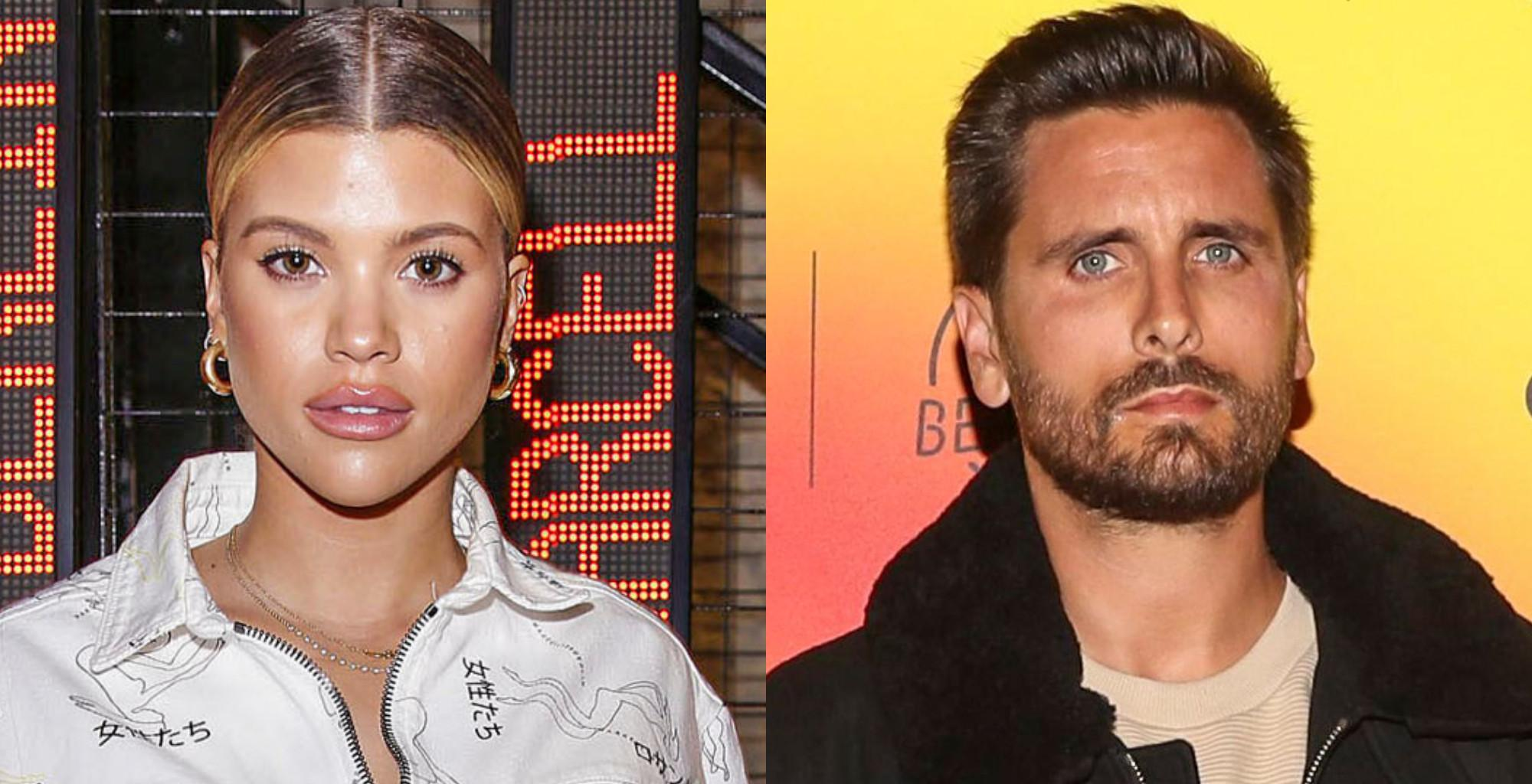 Sofia Richie And Scott Disick - Has She Moved On With Someone Else While Giving Him 'Space' To Work On His Trauma?
