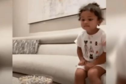 Kylie Jenner Teaches Stormi Webster About Patience In Epic Parenting Video — Homeschooling Is Working For Her