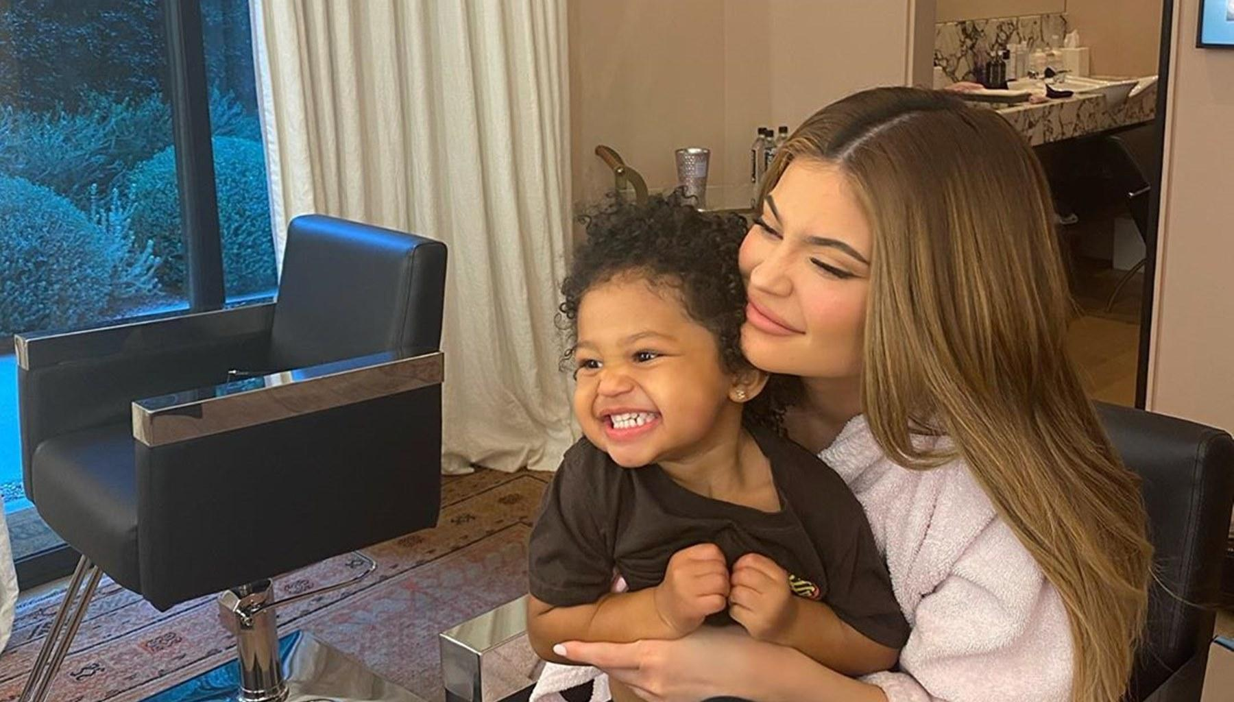 Kylie Jenner Is Being Applauded For Her Stellar Parenting Skills After She Shared This Video Of Stormi Webster