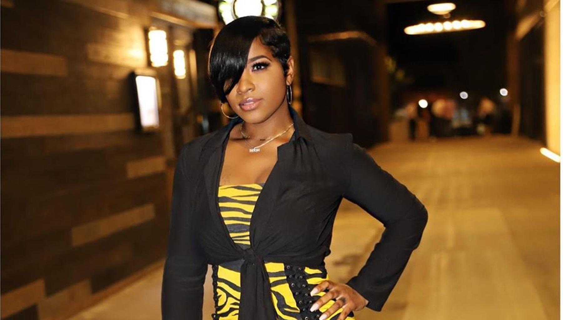 Toya Johnson Shows Off A New Look While Flaunting Her Gorgeous Patio
