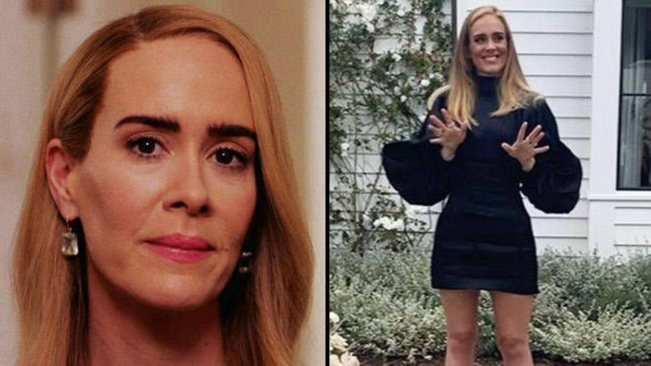 Sarah Paulson Gushes Over Adele When Asked About Being Compared To The Singer After Her Weight Loss Transformation!