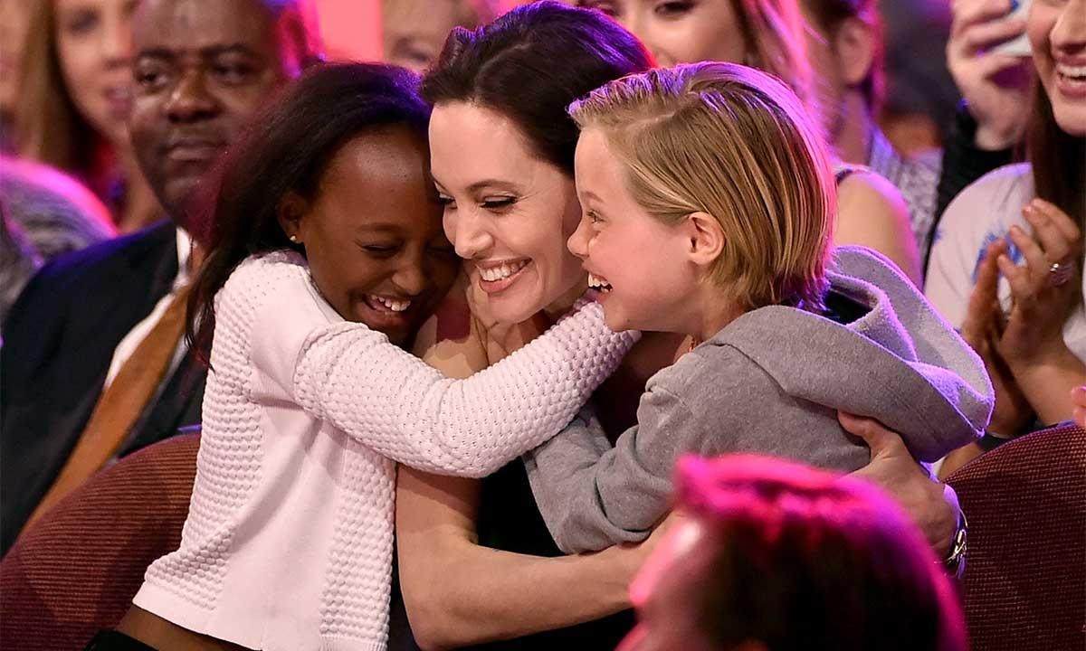 Angelina Jolie's Children Planning To 'Treat Her Like A Queen' On Mother's Day!
