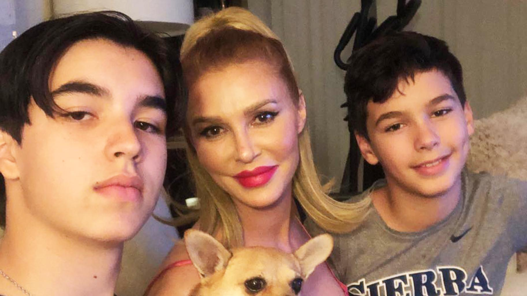 Brandi Glanville Reveals She Sprays Her Sons With 'Bleach Water' Every Time They Enter The House Amid COVID-19!