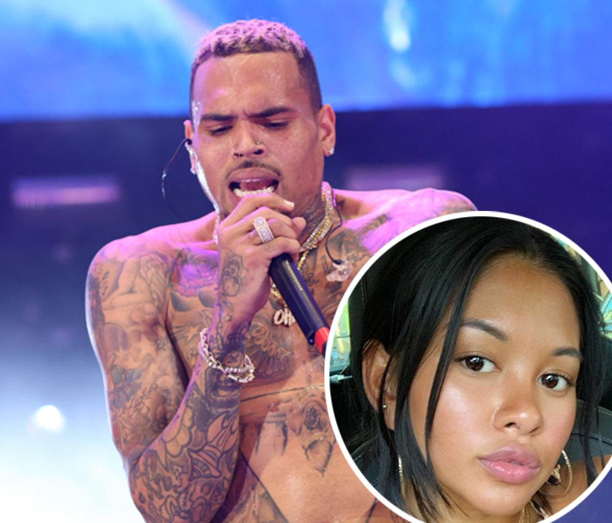 Ammika Harris Surprises Fans With A Photo Featuring Herself And Chris Brown - A Word She Used In Her Message Has People Talking!