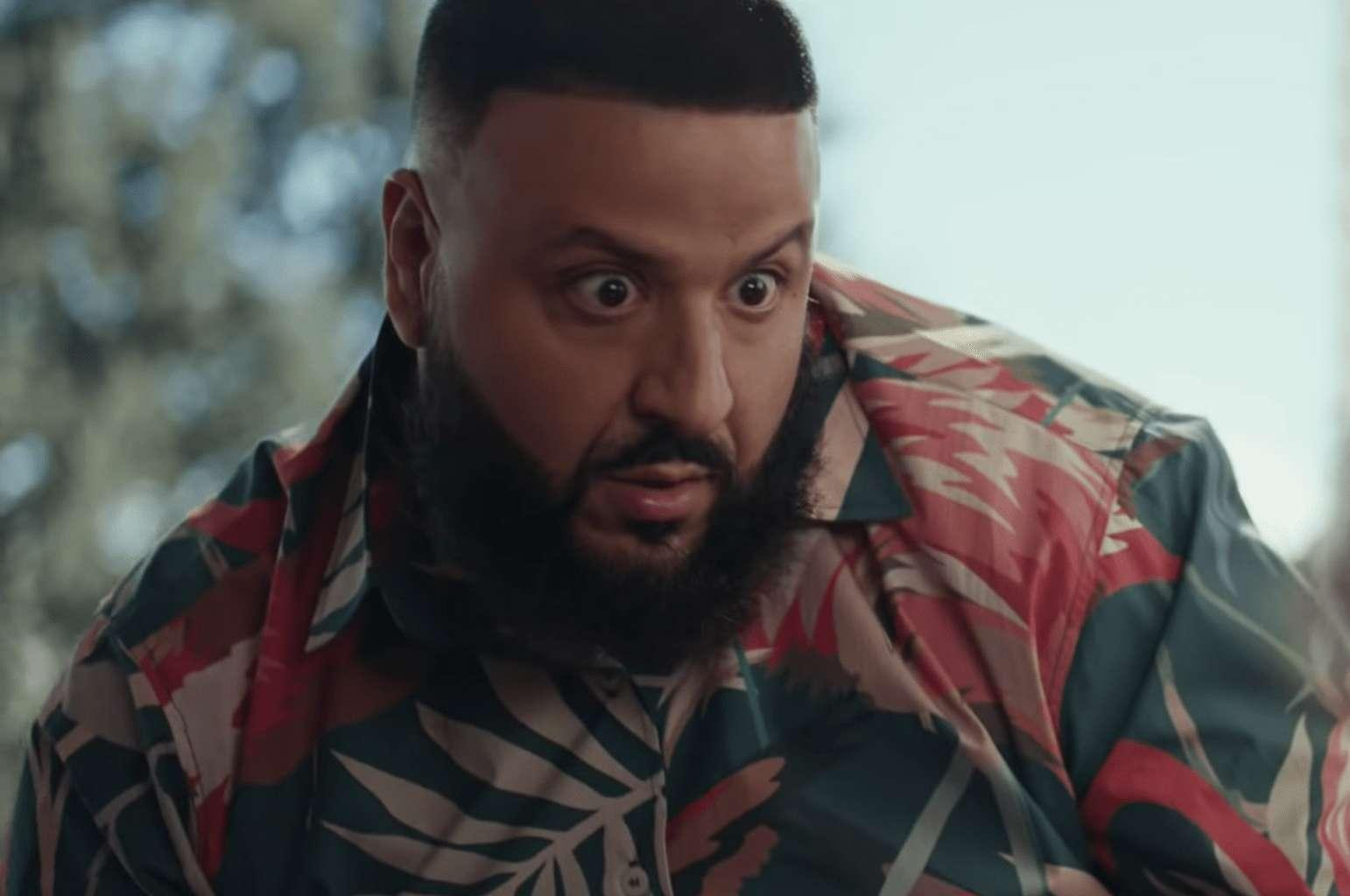 DJ Khaled Fan In Skimpy Clothes Won't Stop Twerking For Him On IG Live And He Begs: 'Talk To Me Normal!'