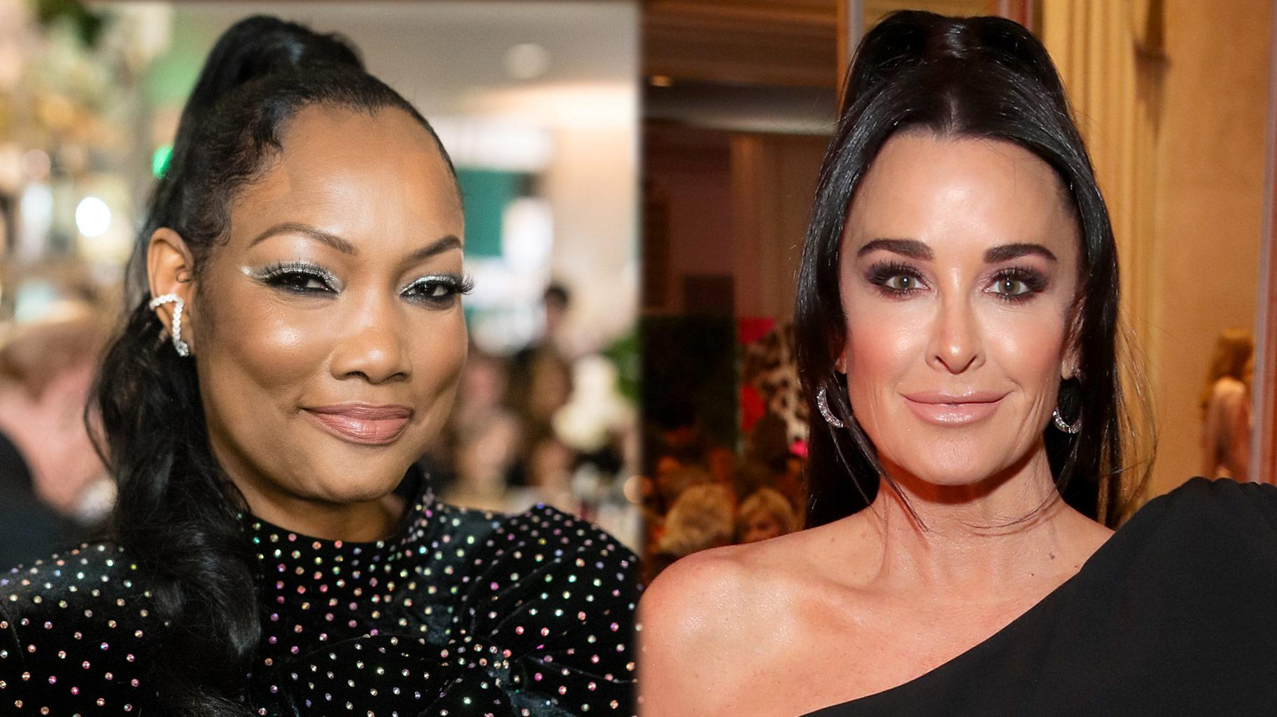 Garcelle Beauvais Reveals She And Kyle Richards Are Not On Speaking Terms!