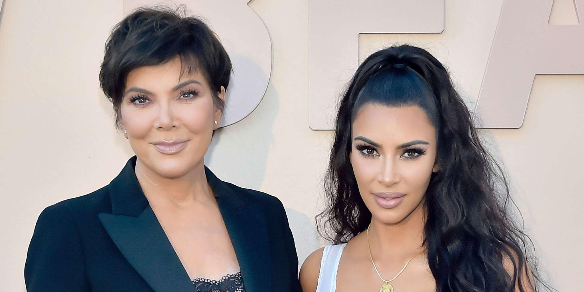 KUWK: Kim Kardashian Posts Throwback Pic Of Momager Kris Jenner In A Bathing Suit Looking Stunning Just After Welcoming Son Rob!