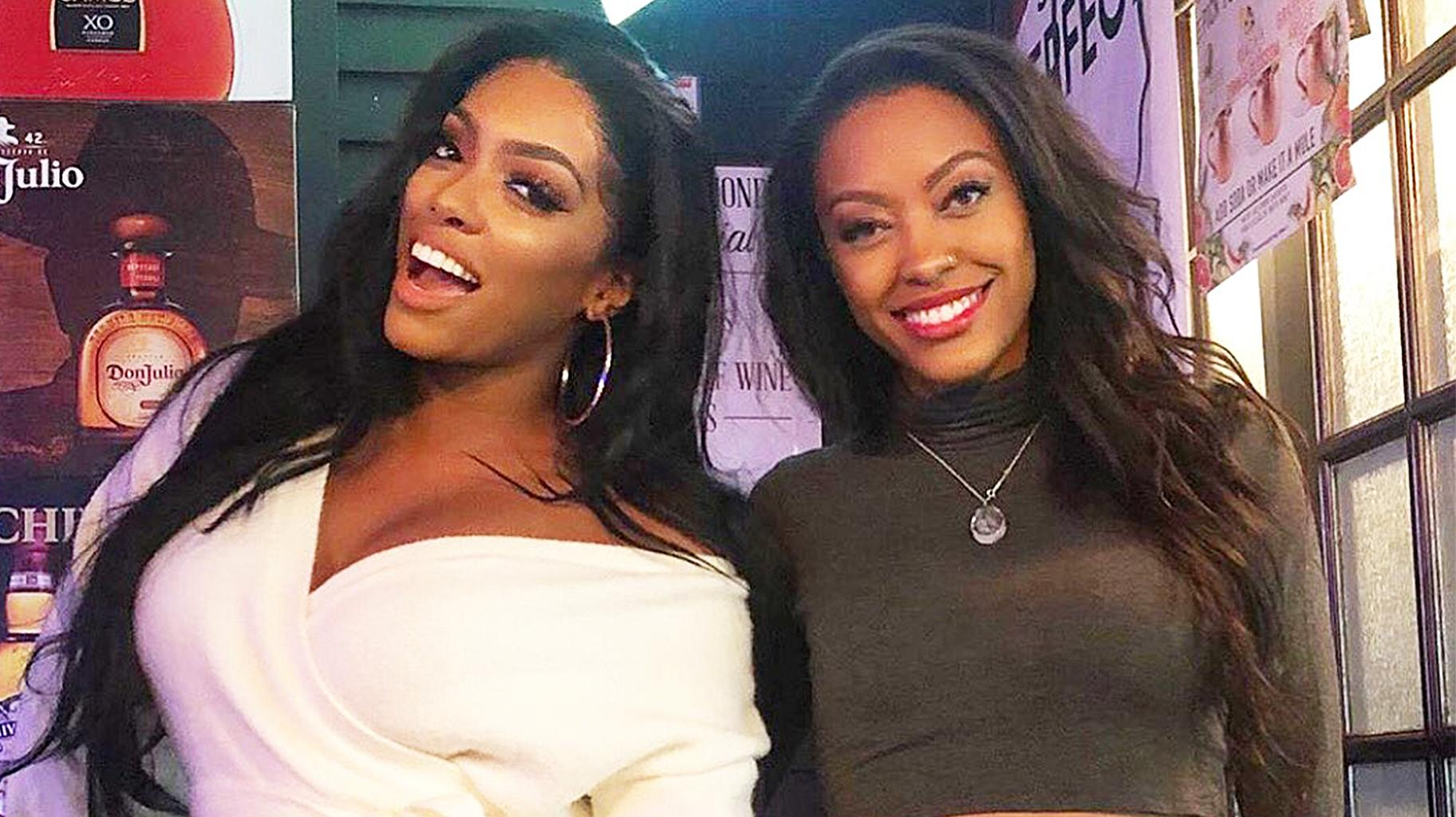Porsha Williams Is Twinning With Her Sister, Lauren Williams In These Photos