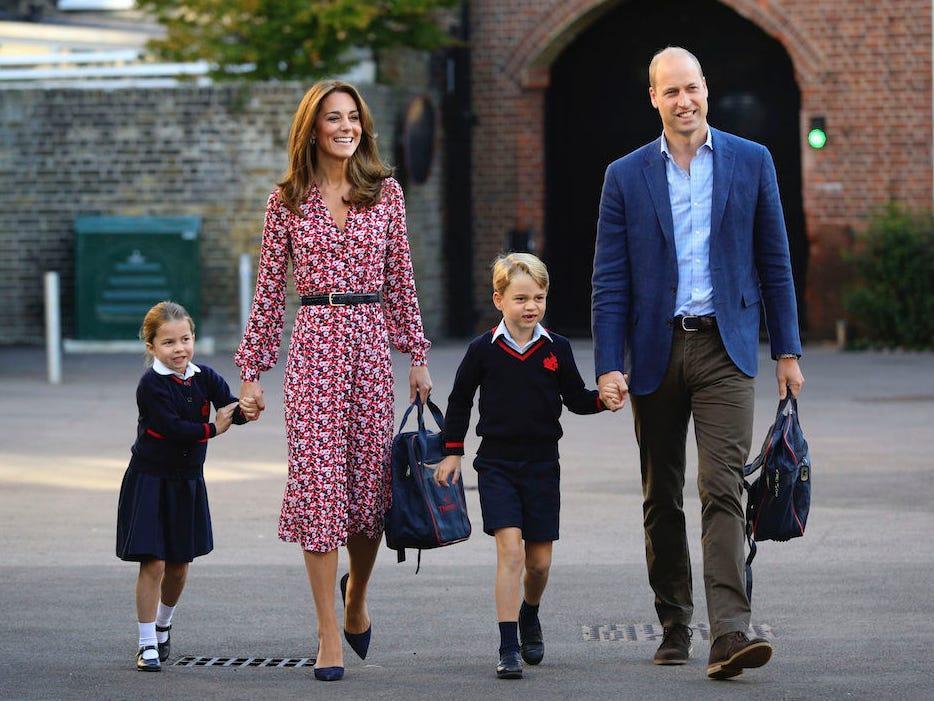 Prince William And Kate Middleton Reportedly Not Sending Their Daughter Back To School When It Opens Up Again - Here's Why!