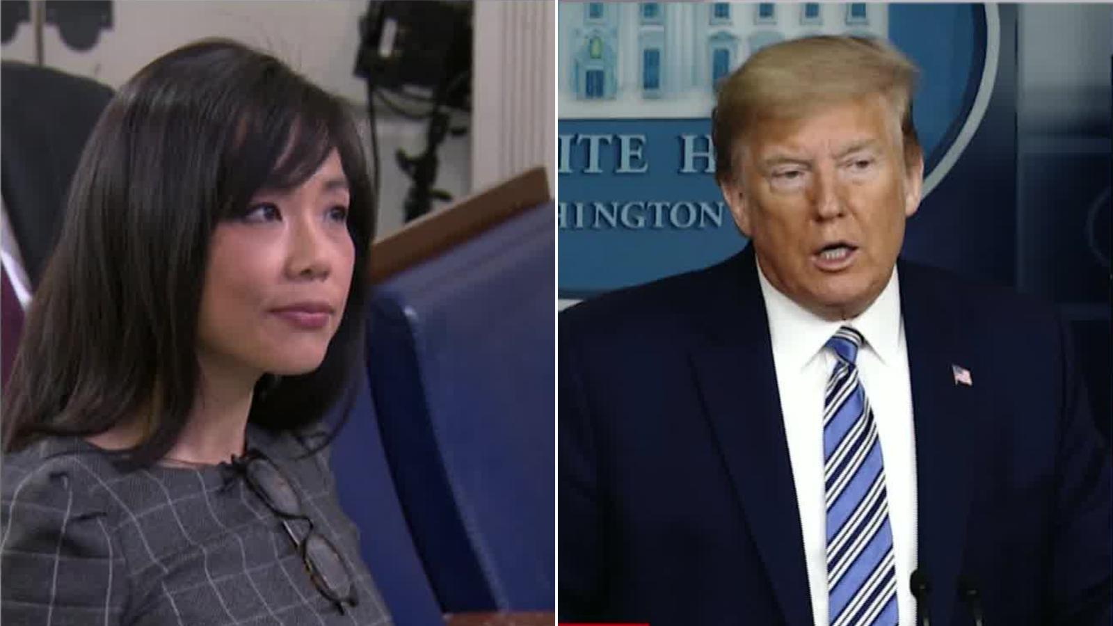 Donald Trump Tells Chinese-American Reporter Weijia Jiang To 'Ask China' During Press Update On COVID-19 And Social Media Is Outraged!