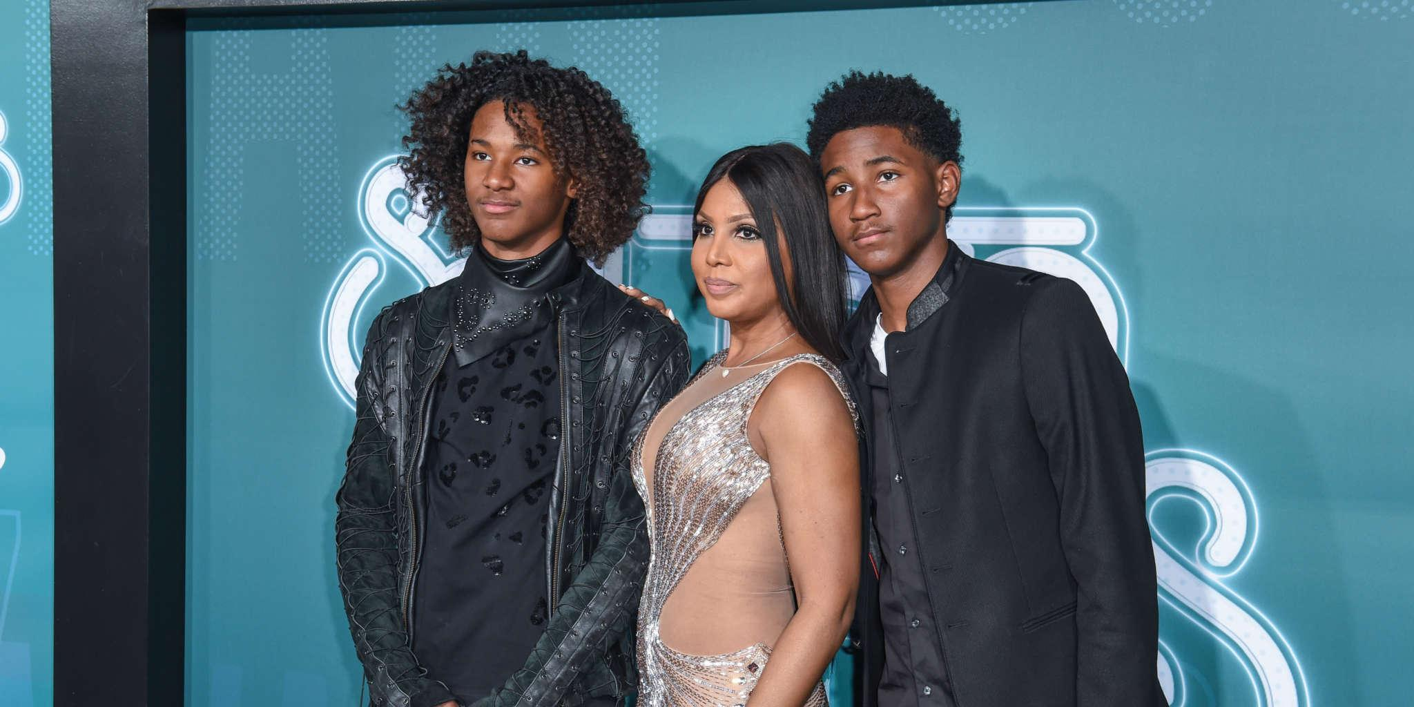Toni Braxton Publicly Professes The Love For Her Sons - Read Her Message