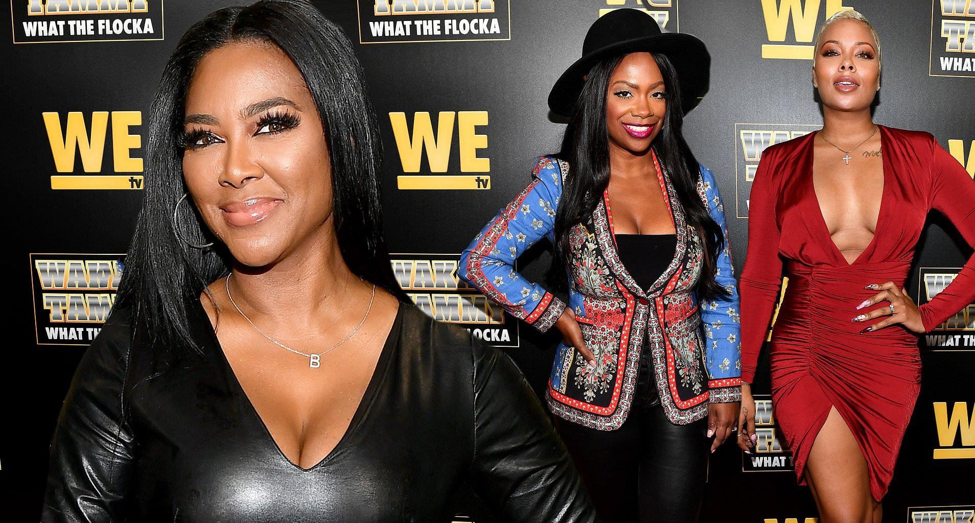 Kenya Moore Celebrates The Juneteenth With Kandi Burruss And Eva Marcille - See The Photos From The Festive Event