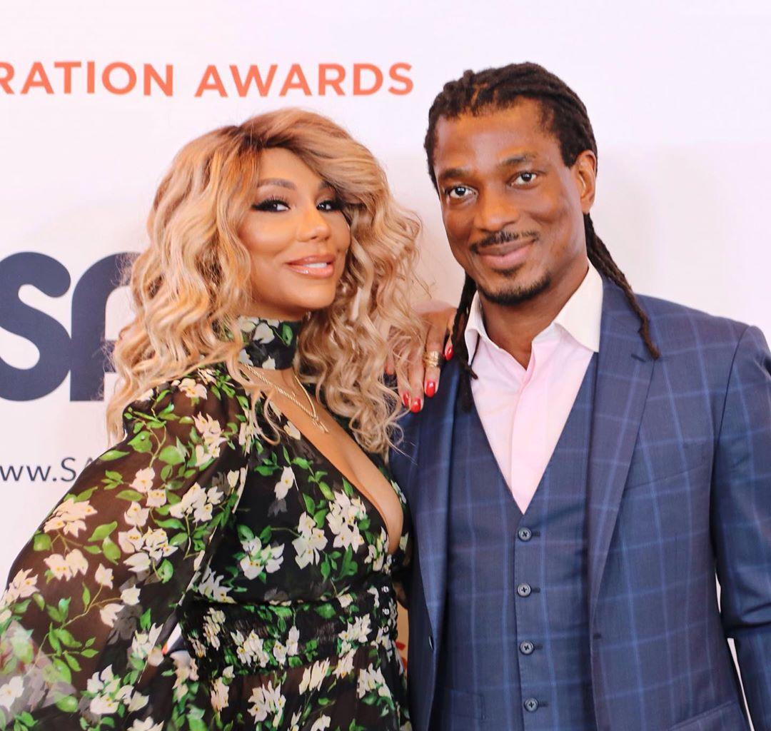 Tamar Braxton's BF, David Adefeso Explains Fans That It's Never Too Late